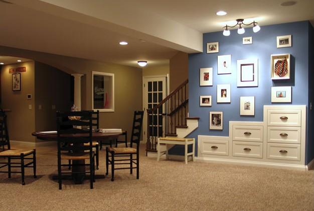 basement sports bar. Basement Sports Bar  Living Space Design Finish Belleville IL