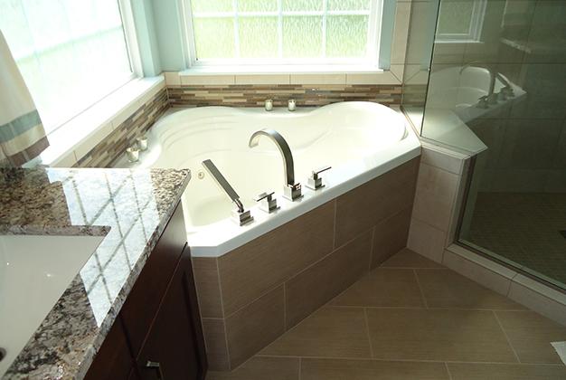 Master Bathroom Update Belleville IL Padgett Building Remodeling - Bathroom remodeling belleville il